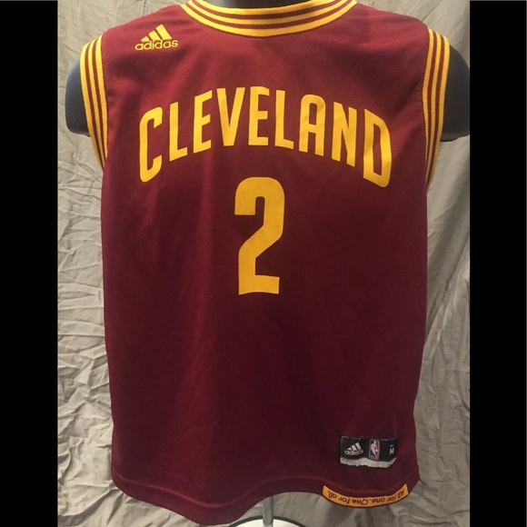 the best attitude f23ee 9a79d NBA Authentic Kyrie Irving Cavs Jersey